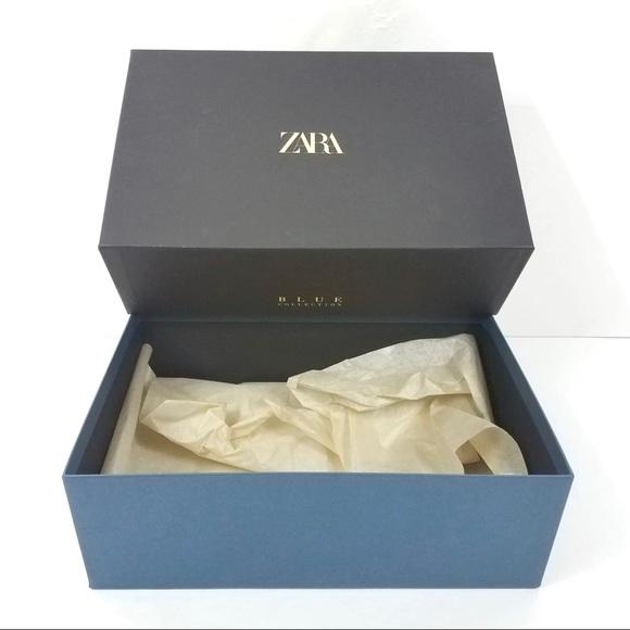 ZARA BLUE COLLECTION Empty Purse Shoe Gift Box